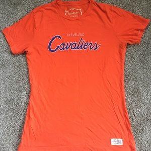 🌈 Cleveland Cavaliers, Top, Fan, Orange, Size M
